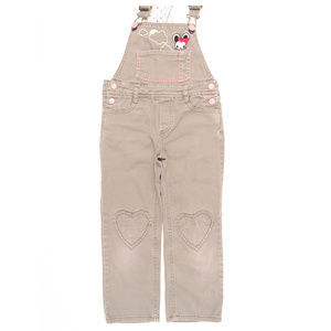 H &M Jean Overalls Size 4-5 #00428